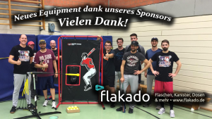 Neues Equipment dank unseres Sponsors, flakado!